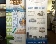 Retractable Banner Carbiz:MSG