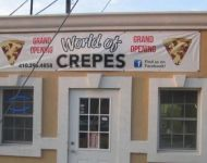 World of Crepes Banner 2